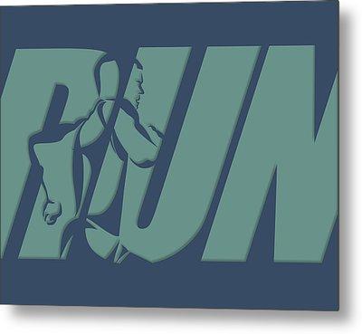 Run 1 Metal Print by Joe Hamilton