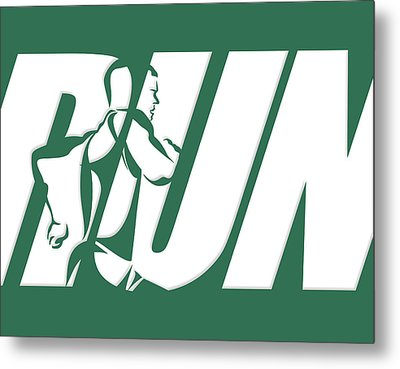Run 2 Metal Print by Joe Hamilton