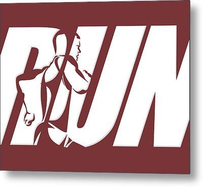 Run 3 Metal Print by Joe Hamilton