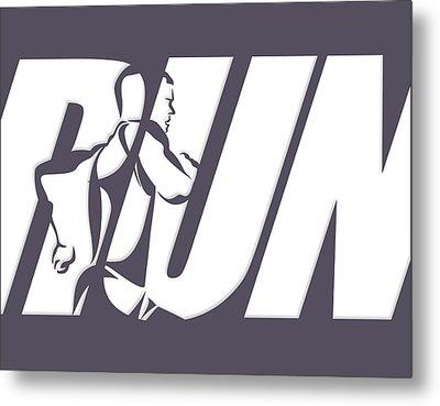 Run 4 Metal Print by Joe Hamilton