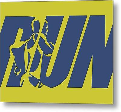 Run 5 Metal Print by Joe Hamilton