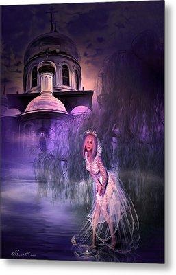 Runaway Bride Metal Print by Svetlana Sewell