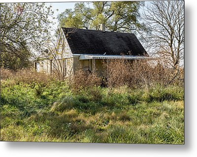 Rural Abandonment. Metal Print by William Morris
