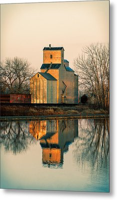 Rural Reflections Metal Print by Todd Klassy