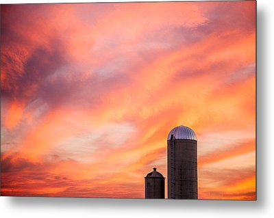 Rural Skies Metal Print by Todd Klassy