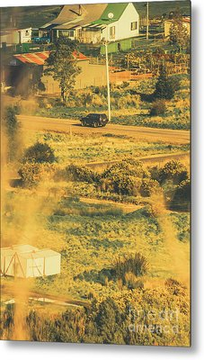 Rural Tasmania Landscape At Summer Metal Print by Jorgo Photography - Wall Art Gallery