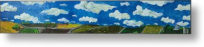 Rural View Metal Print