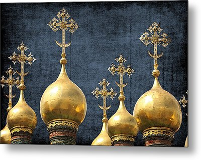 Russian Icons Metal Print