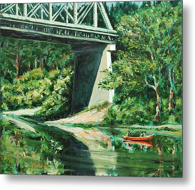 Russian River Metal Print