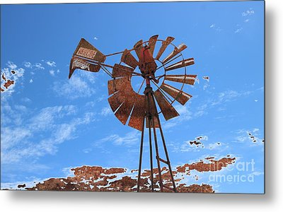 Metal Print featuring the photograph Rust Age by Stephen Mitchell