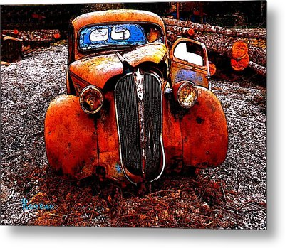 Metal Print featuring the photograph Rust In Peace by Sadie Reneau