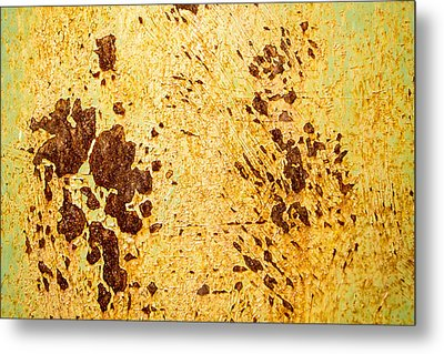 Metal Print featuring the photograph Rust Metal by John Williams