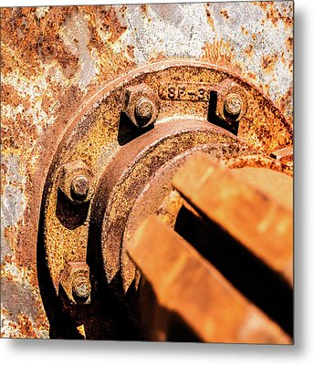 Metal Print featuring the photograph Rust by Onyonet  Photo Studios