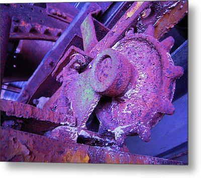 Metal Print featuring the photograph Rust Sleeping by Don Struke