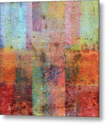 Rust Study 1.0 Metal Print by Michelle Calkins