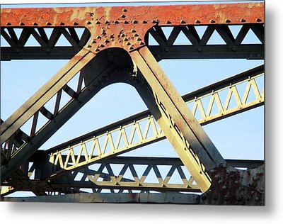 Rusted Metal Print by Martin Cline