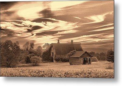 Rustic Barn 2 Metal Print by Mark Fuller