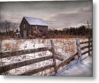 Rustic Chill Metal Print by Robin-Lee Vieira