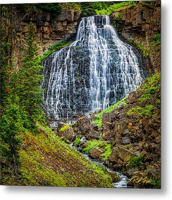 Metal Print featuring the photograph Rustic Falls  by Rikk Flohr