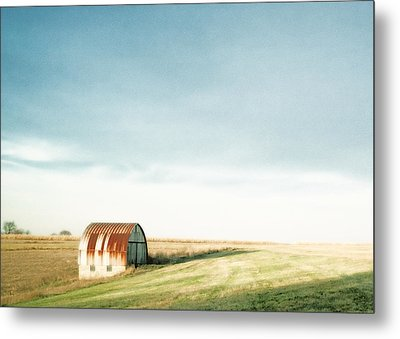 Rustic Fields Metal Print by Todd Klassy