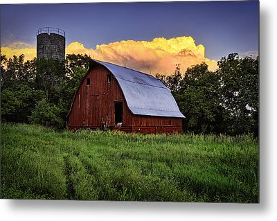 Rustic Glory Metal Print by Thomas Zimmerman