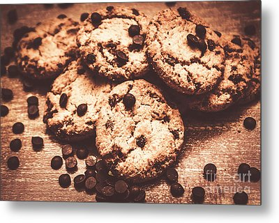Rustic Kitchen Cookie Art Metal Print by Jorgo Photography - Wall Art Gallery