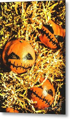 Rustic Rural Halloween Pumpkins Metal Print by Jorgo Photography - Wall Art Gallery
