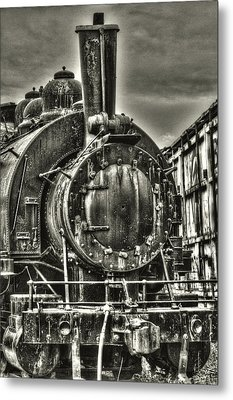 Rusting Locomotive Metal Print