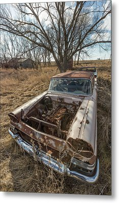 Metal Print featuring the photograph Rusty by Aaron J Groen