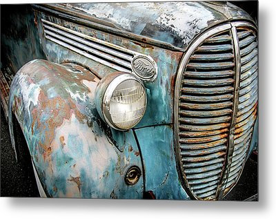 Rusty Blues Metal Print by David Lawson