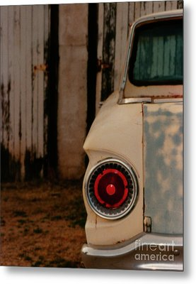 Rusty Car Metal Print
