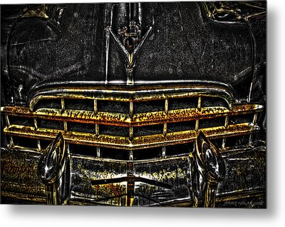 Rusty Metal Print by Jerry Golab