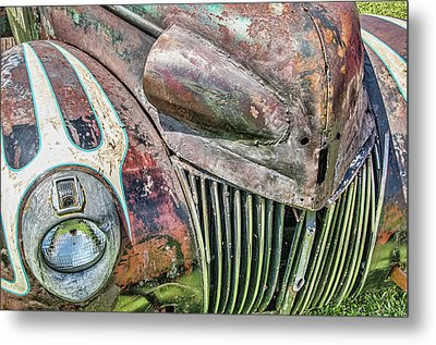 Rusty Road Warrior Metal Print