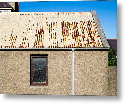 Rusty Roof Metal Print