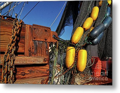 Rusty Shrimping Metal Print