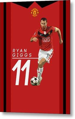 Ryan Giggs Metal Print