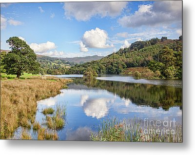 Metal Print featuring the photograph Rydal Water, English Lake District by Colin and Linda McKie