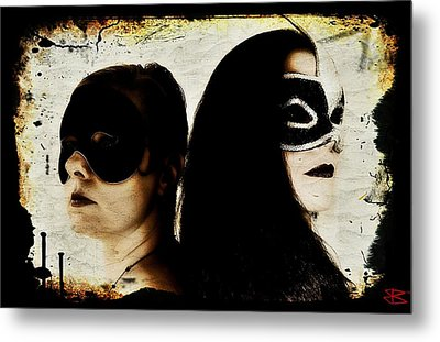 Ryli And Corinne 1 Metal Print by Mark Baranowski