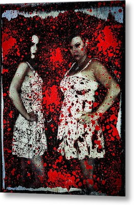 Ryli And Corinne 2 Metal Print by Mark Baranowski