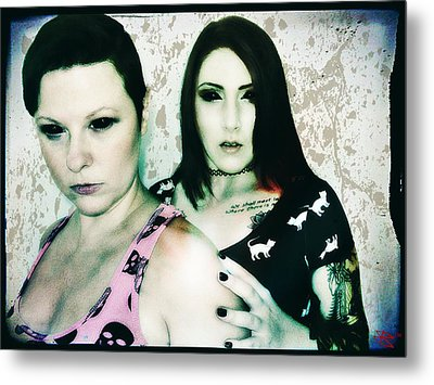 Ryli And Khrist 1 Metal Print by Mark Baranowski