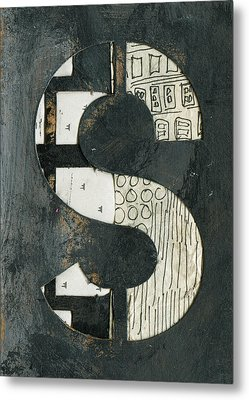 The Letter S Metal Print