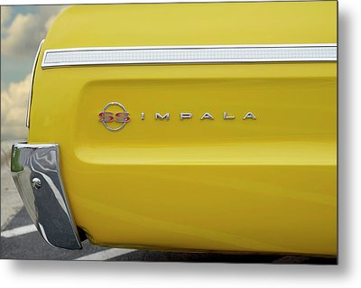 Metal Print featuring the photograph S S Impala by Mike McGlothlen