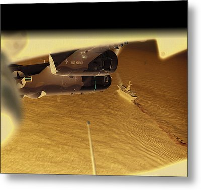 S2s In Delta Metal Print by Mike Ray