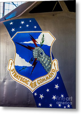 Strategic Air Command Metal Print by Jon Burch Photography