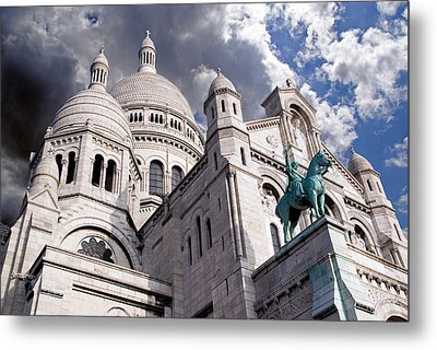 Metal Print featuring the photograph Sacre-coeur by Rod Jones