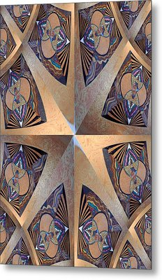 Sacred Construction Metal Print by Ricky Kendall