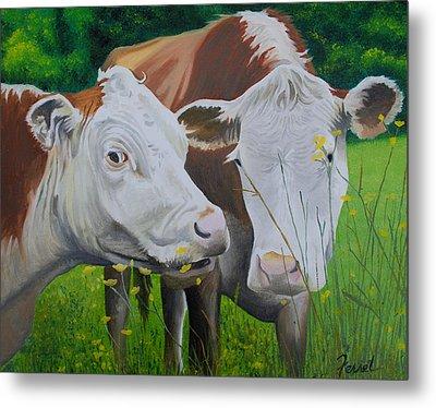 Sacred Cows Metal Print