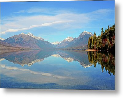 Sacred Dancing Reflections Metal Print