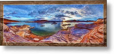 Metal Print featuring the photograph Sacred Rising by ABeautifulSky Photography