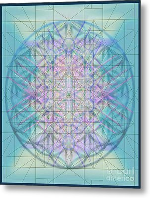 Sacred Symbols Out Of The Void 4b Metal Print by Christopher Pringer
